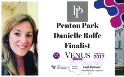 Venus Awards Finalist: Danielle Rolfe, Penton Park