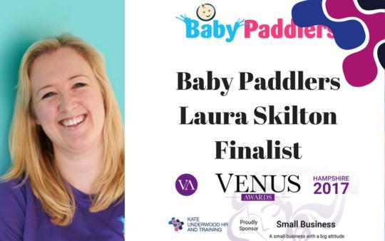 Venus Awards Finalist: Laura Skilton, Baby Paddlers