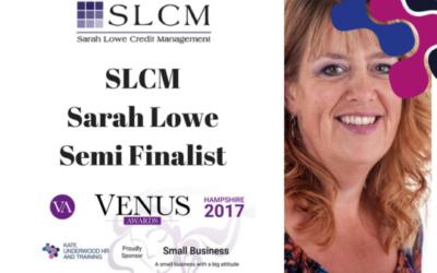 Venus Awards Semifinalist: Sarah Lowe Credit Management