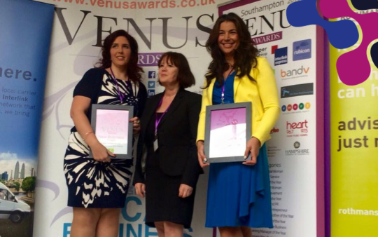 Venus Awards 2016 - 9 days to go! Kate Underwood HR & Training Dorset Hampshire